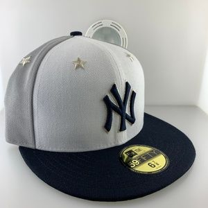 New Era Cap New York Yankees Star Gray Size 6 7/8